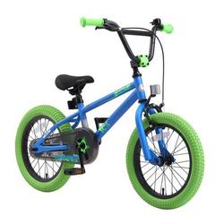 bikestar Kinderfahrrad 16 BMX Blau Grün