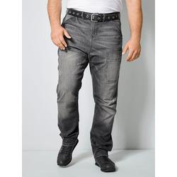Jeans Men Plus Grey