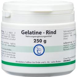 GELATINE Rind Pulver Dose 250 g