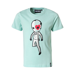Fortnite T-Shirt Fortnite T-Shirt für Jungen blau 164