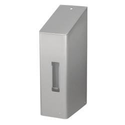 SanTRAL® NSU 11 Touchless Schaumseifenspender, Berührungsloser Seifenspender aus Edelstahl, Farbe: grau, E/F AFP