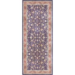 Läufer Keshan Maschad, ELLE Decor, rechteckig, Höhe 5 mm, Orient-Optik blau