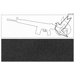 CHILLI PRO SCOOTER REAPER Griptape 2020 black