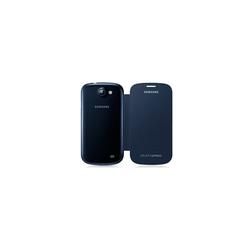 Handyhülle mit Folie Samsung Galaxy Express I8730 Blau