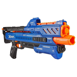 ZURU Outdoor-Spielzeug X-SHOT Chaos Orbit Blaster mit 24 Kugeln, Spielzeugpistole Spielzeugwaffe