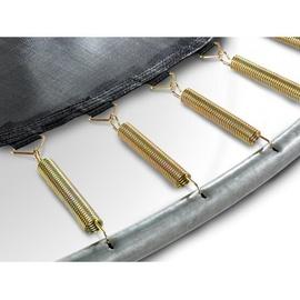 EXIT TOYS Elegant Inground-Trampolin 244 x 427 cm inkl. Economy Sicherheitsnetz grau