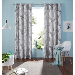 Vorhang Mamor, my home, Ösen (1 Stück) 135 cm x 245 cm