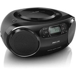 Philips AZB500 CD-Radio DAB+, UKW AUX, CD Schwarz