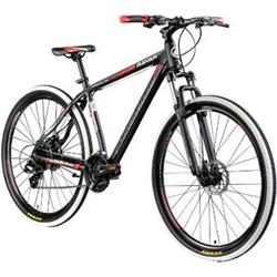 Galano Ravan 29 Zoll Mountainbike MTB Hardtail Fahrrad 24 Gänge Bike 3 Farben... 48 cm, schwarz/rot
