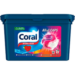 Coral All in 1 CAPS Waschmittel 16 St.