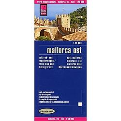 Reise Know-How Mallorca Ost (1:40.000); East Mallorca; Majorque  est. Mallorca este. Reise Know-How Verlag  - Buch