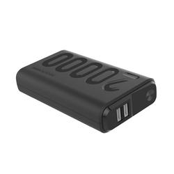 Realpower PB-20000 PD+ Rapid Charge Powerbank mit Power Delivery, USB-C Notebook Ladegerät, mobil, Ersatz für Zusatzakku Powerbank