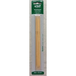 Strumpfstricknadel aus Bambus Stärke: 3,50, 20cm [Spielzeug]