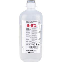 GLUCOSE 5% B.Braun Ecoflac Plus 500 ml