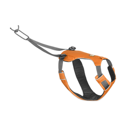 Ruffwear Omnijore? Joring System Zuggeschirr für Hunde, S, Brustgeschirr 56-69 cm, Orange Poppy