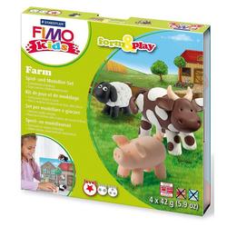 STAEDTLER Knete FIMO kids Form & Play Farm
