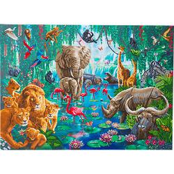 Crystal Art Dschungel-Sammlung, 90 x 65 cm Kristallkunst