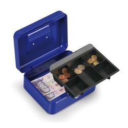 Geldkassette 90 x 200 x 160 mm, blau
