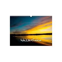 Wasserlinien (Wandkalender 2020 DIN A3 quer)