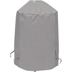 Tepro Grill-Schutzhülle, BxLxH: 73x73x90 cm, für Kugelgrill groß grau Zubehör Grills Garten Balkon Grill-Schutzhülle