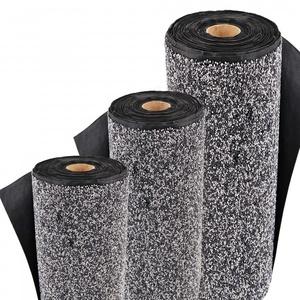 Steinfolie 8m x 1m breit Für Teichrand Bachlauf Teichfolie Kiesfolie Grau