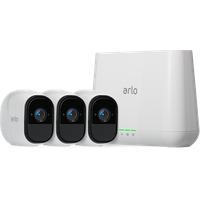 Arlo Kabelloses Sicherheitssystem Pro mit 3 HD-Kameras VMS4330