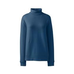 Sweatshirt mit Rollkragen - 48-50 - Blau