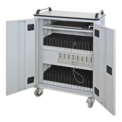 ADB Tabletwagen für 32 Tablets oder Ipads / Mobiler Laptopwagen