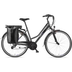 Telefunken E-Bike Expedition XT480, 21 Gang Shimano, Heckmotor 250 W, mit Fahrradtasche