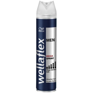 Wellaflex men Haarspray Mega starker Halt, 6er Pack (6 x 250 ml)