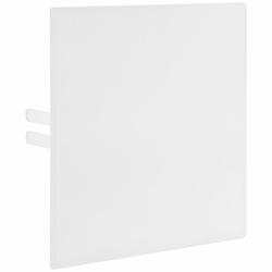 KAMO Abdeckplatte - Stahl weiß - für Wasserzähler-Messstation WM-KH - 280 x 280 mm