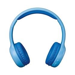Lenco HPB-110BU - faltbarer Bluetooth Kopfhörer mit Kinder-Kopfhörer blau