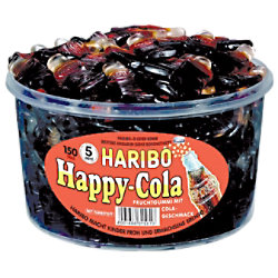 Haribo Fruchtgummi Happy-Cola 150 Stück à 8 g