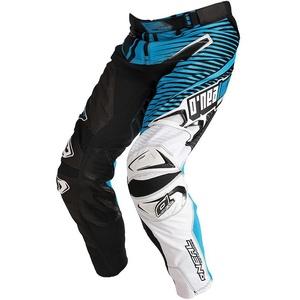 O´Neal Hardwear Flow Motocross Hose, schwarz-weiss-blau, Größe 28