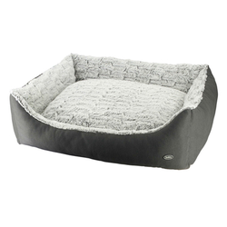 Nobby Hundebett RIWU, L x B x H: 80 x 70 x23 cm, grau