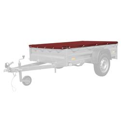 Rote Plane für Anhänger Garden Trailer 205 UNITRAILER 200x125