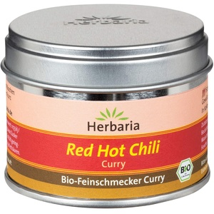 Herbaria Red Hot Chili Curry S-Dose, würzig, scharf, 30 g