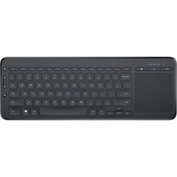 Microsoft All-in-One Media Keyboard Tastatur mit Touchpad
