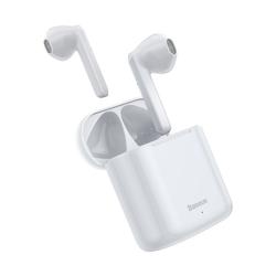 Baseus Baseus TWS Encok W09 IP54 Wasserdicht Kabellose Kopfhörer Headset Wireless Bluetooth 5.0 Ohrhörer Wireless-Headset weiß