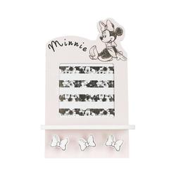 Disney Minnie Mouse Garderobe Bilderrahmen und Garderobe mit 3 Haken Minnie