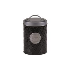 Michelino Zuckerdose Zuckerdose Vorratsdose, Metall, (1-tlg) schwarz