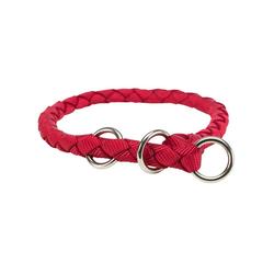 TRIXIE Hunde-Halsband Cavo ZugStopp, Nylon rot 1 cm x 41 cm
