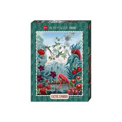Huch! Puzzle Puzzle Bird Paradise, Exotic Garden, 1.000 Teile, Puzzleteile