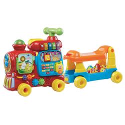 Vtech® Spielzeug-Eisenbahn ABC-Eisenbahn, (15-tlg)