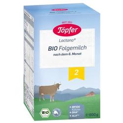 Töpfer Bio Folgemilch 2 600 g nach dem 6. Monat