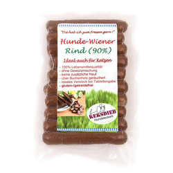 (2,05 EUR/100g) Keksdieb Hunde-Wiener Rind 180 g