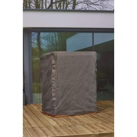 Mandalika Garden Schutzhülle für Strandkörbe Gartenmöbel Hülle 105-150cm Breite B138xT105xH160/135 cm