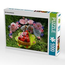 Die Hochzeitstorte Lege-Größe 64 x 48 cm Foto-Puzzle Bild von Evelyne Berger Puzzle