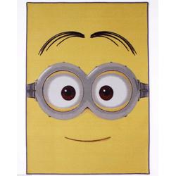 Kinderteppich Spielteppich, Minions, rechteckig, Höhe 5 mm, 133 x 95 cm