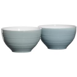 Ritzenhoff & Breker Müslischale Suomi, 2-teilig blau Schalen Geschirr, Porzellan Tischaccessoires Haushaltswaren